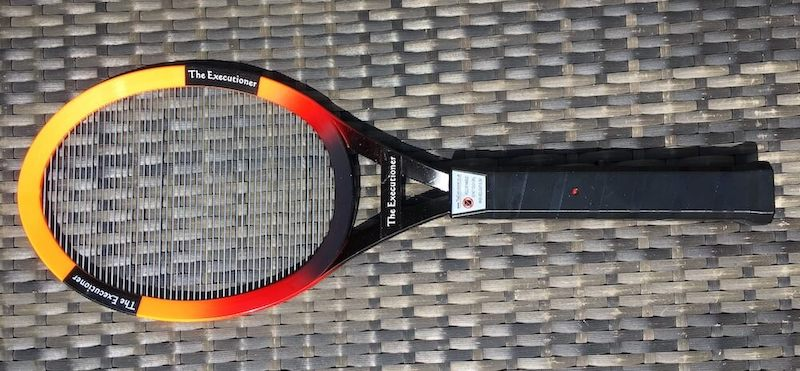 The Executioner, a tennis racket styled fly zapper